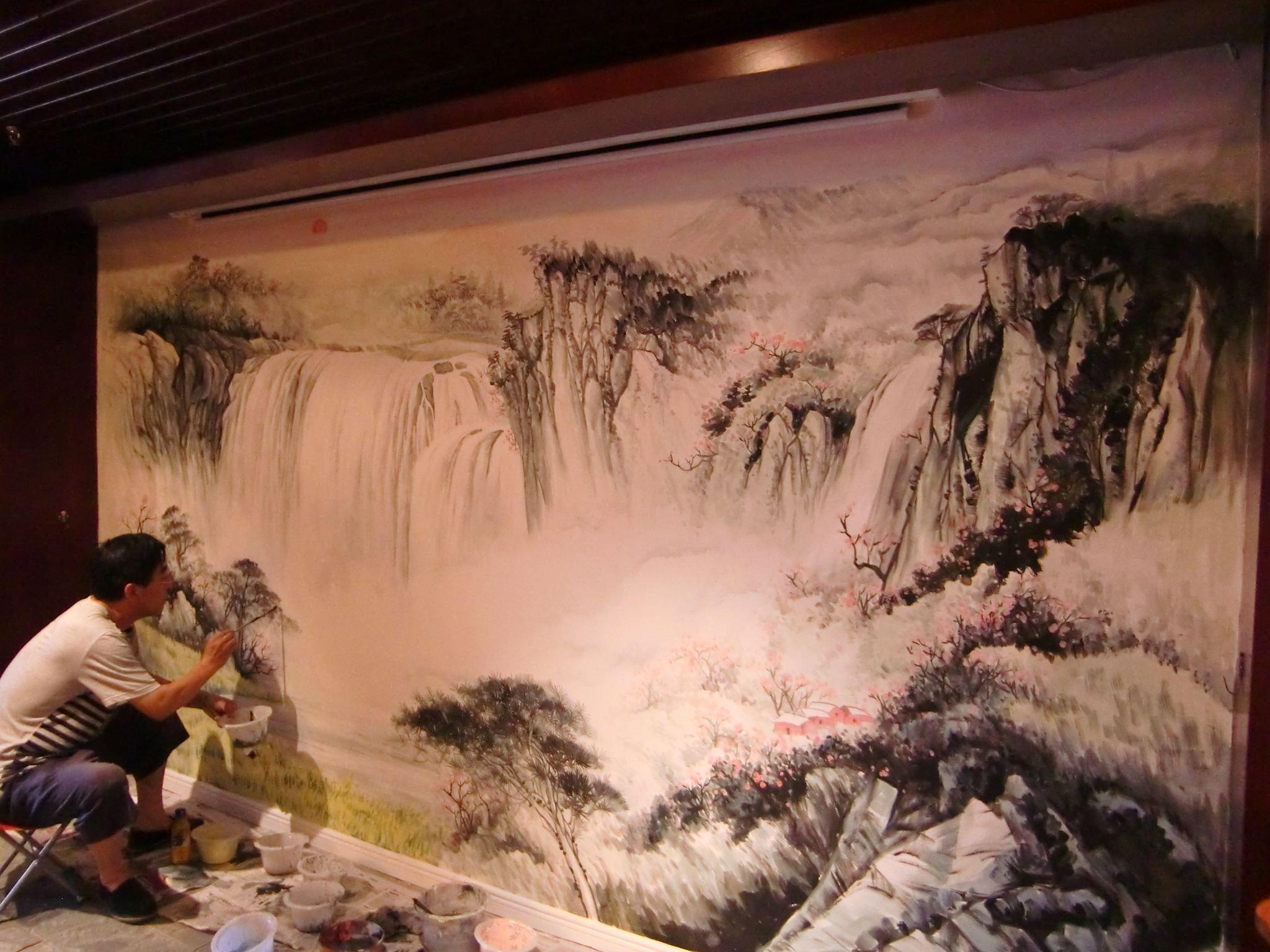 上饶喷绘墙面,上饶墙面喷绘,上饶涂鸦壁画,上饶幼儿园彩绘墙画
