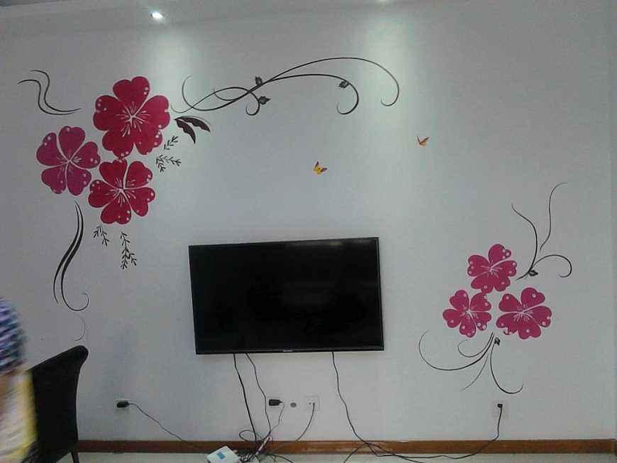 上饶墙体广告喷绘,上饶户外墙体喷绘,上饶幼儿园外墙绘画